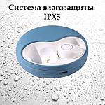 Беспроводные наушники блютуз наушники bluetooth гарнитура 5.0 Wi-pods K10 наушники с микрофоном Оригинал синие, фото 2