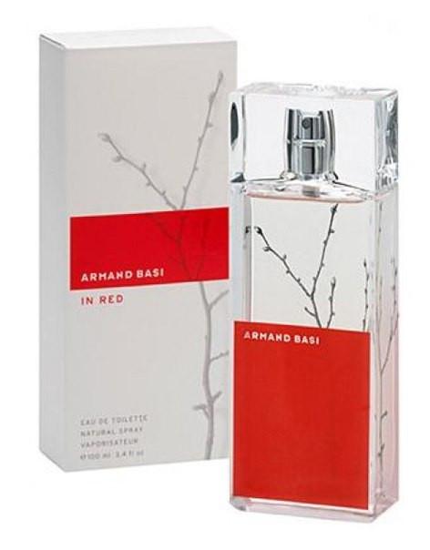 Armand Basi In Red туалетная вода 100 ml. (Арманд Баси Ин Ред) - Интернет-магазин элитной парфюмерии VIP-Parfum в Киеве