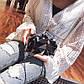 Уценка Клатч Женский Металлический L-295 Тёмно-Серый, фото 4
