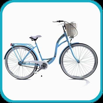 Міські жіночі велосипеди