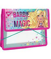 """Папка для зошитів пласт. на резинці В5 """"Barbie"""""""