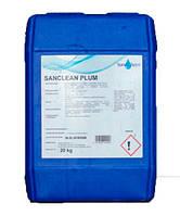 Нейтральный жидкое средство SaneChem SANCLEAN PLUM для мытья посуды и подручных инструментов, 5/20/150 кг