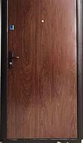 Нестандартные металлические входные двери метал/МДФ 190 см., фото 2