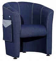 Кресло детское Капризулька, джинс