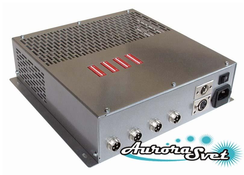 БУС-3-04-100MW блок управления светодиодными светильниками, кол-во драйверов - 4, мощность 100W.