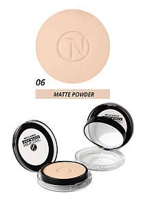 Компактная матирующая пудра  - matte powder New Line Milano