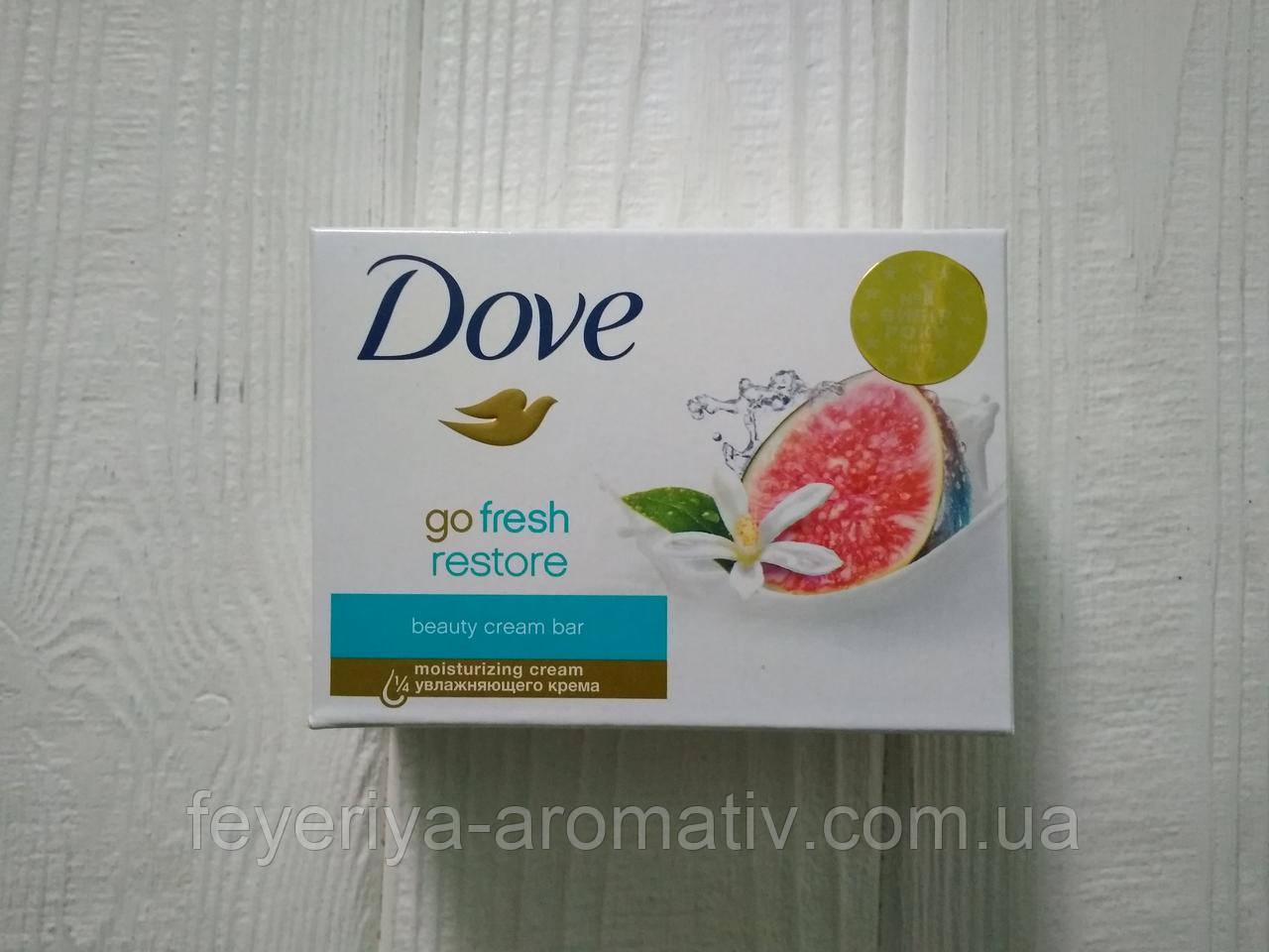 Крем-мыло Dove Аромат инжира и цветка апельсина 135г (Нидерланды)