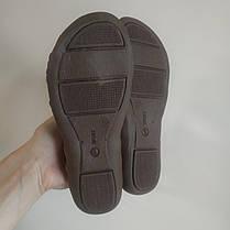 Босоніжки, шльопанці на плоскій підошві широка гумка різні кольори низький каблук, фото 3
