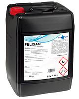 Щелочное непенное средство SaneChem FELISAN для мытья вручную и в туннельных мойках, 5/25 кг