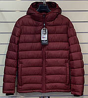 Куртка мужская зимняя TIGER FORCE Артикул: TJBW-70557D-39 цвет wine red