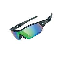 Очки EXUSTAR CSG09-4IN1 (3 сменные линзы) черный