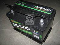 Аккумулятор 74Ah-12v DECARO (276х175х190),(0 R),EN720