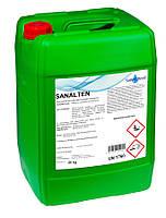Щелочное пенное средство SaneChem SANALTEN для мытья и гигиены поверхностей машин и оборудования, 5/25 кг