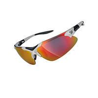 Очки EXUSTAR CSG17-WH сменная линза в комплекте, съемный ремешок. Защита от ультрафиолета. Белый