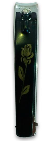 Книпсер для ногтей RX, кусачки, щипчики, длина 80 мм, черный