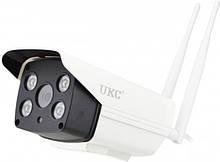 Уличная IP камера видеонаблюдения UKC CAD 90S10B 2 mp водонепроницаемая беспроводная