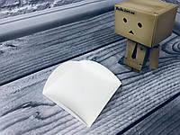 Подложка под пирожное ущко/квадрат, Молочная, 80х80мм/мин 200 шт, фото 1
