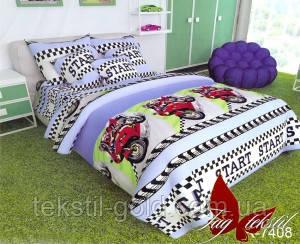Подростковый постельный комплект R7408 ТМ TAG ранфорс 1,5-спальный