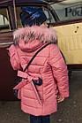 Пальто для девочек с бантом - сезон 2019 - (модель КТ-510), фото 3