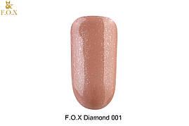 Гель-лак для ногтей  F.O.X  Diamond №001, 6мл