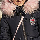 Куртка для девочек с сумочкой - сезон 2019 - (модель КТ-556), фото 2