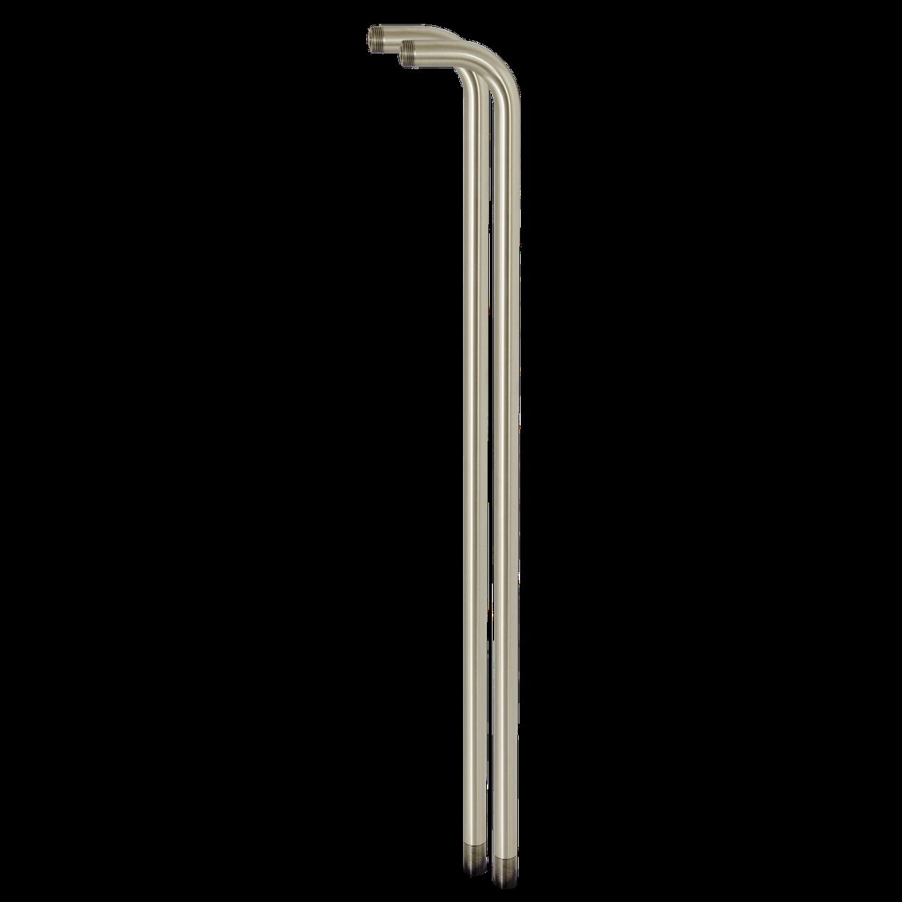 Стойки (2 штуки) для смесителя в ванную (античная латунь)