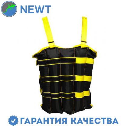 Жилет наборной утяжелительный Newt 10 кг. (с регулируемыми весами), фото 2