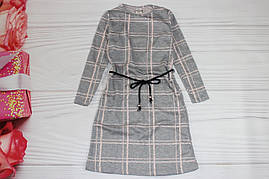 Платье для девочки двунитка Турция от 8 до 12 лет