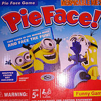 Веселая настольная игра Пирог в лицо