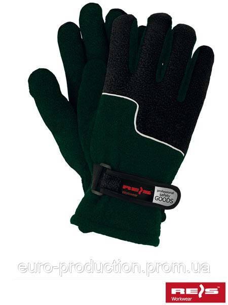Перчатки защитные утепленные из флиса RPOLTRIP ZB