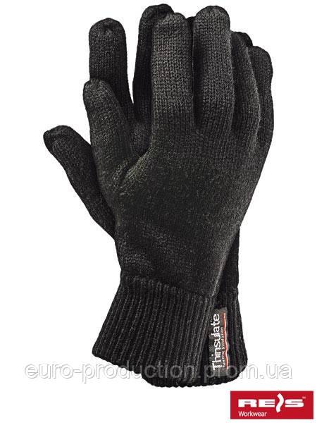 Защитные перчатки трикотажные, утепленные вкладкой Thinsulate RTHINSULOB B