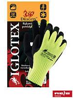 Защитные утепленные проклеенные перчатки IGLOTEX YB
