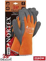 Защитные утепленные перчатки, с покрытием из латекс NORTEX PS