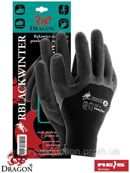 Защитные утепленные перчатки RBLACKWINTER B