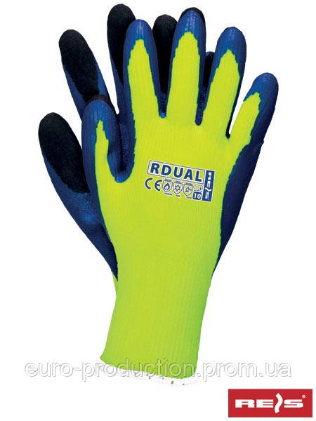 Перчатки защитные утепленные, проклеенные RDUAL YNB