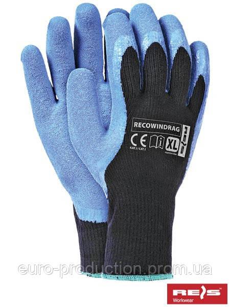 Защитные перчатки утепленные RECOWINDRAG BN XL