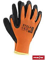 Рабочие перчатки покрытые латексом RTELA PB