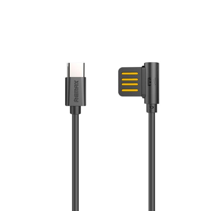 Кабель USB Remax Оригинал Rayen RC-075a Type-C Black 1m