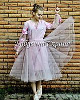 Сукня жіноча МВ-01с (сукня-1500грн. фатінова спідниця-400грн.)