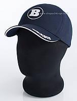 Бейсболка мужская с автомобильным логотипом Brabus синяя