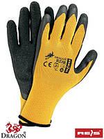 Защитные рукавицы изготовленные из трикотажа RDR BY