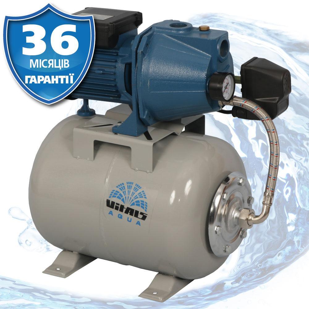 Станция насосная автоматическая 53 л/мин, 55м напор, Латвия Vitals Aqua AJ 1055-24e