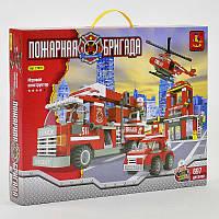 """AUSINI 21901 (12) """"Пожарная станция"""", 697 дет, уровень сложности****,"""