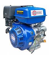 Бензиновый двигатель Odwerk DVZ 188FE (13 л.с., шпонка, 25 мм, эл. запуск)