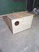 Деревянная будка  для кошки, фото 1