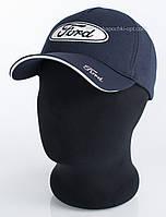Бейсболка мужская с автомобильным логотипом Ford синяя