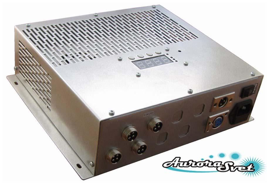 БУС-3-04-200MW-LD блок управления светодиодными светильниками, кол-во драйверов - 4, мощность 200W.
