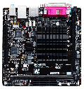 "Материнская плата GIGABYTE GA-N3050N-D2P SoC DDR3 ""Over-Stock"" Б/У, фото 3"
