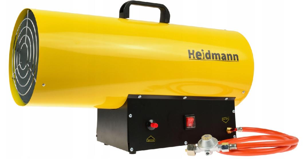 Тепловая газовая пушка HEIDMANN H00754 65kW