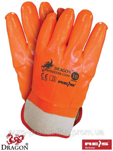 Перчатки защитные покрытые ПВХ RFREEZER-CUFF
